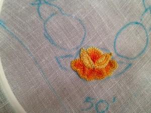 nappe avec des roses6